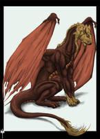 Cat-Dragon by Sheranuva