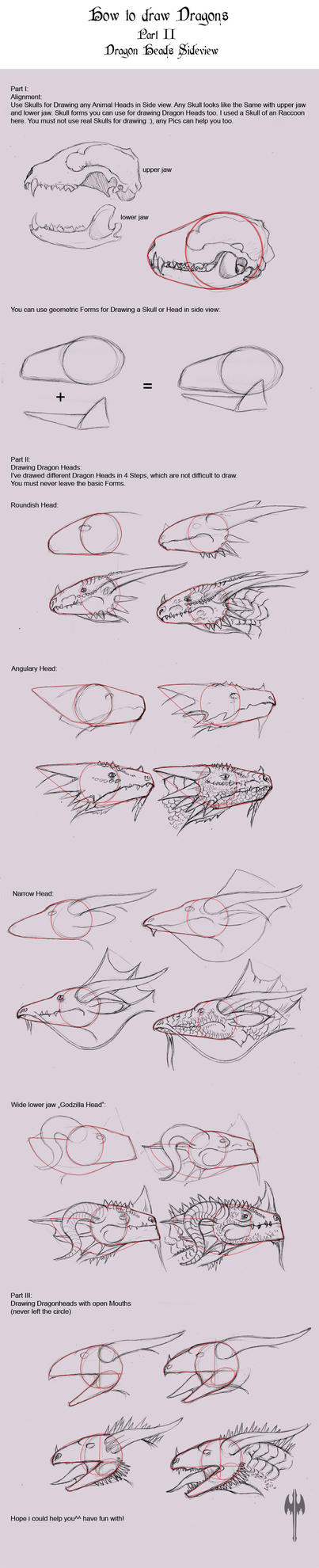 How to Draw Dragons II by Sheranuva
