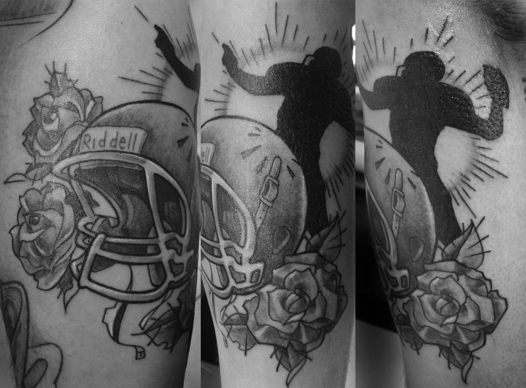 Go Back > Galle... American Football Tattoos Designs