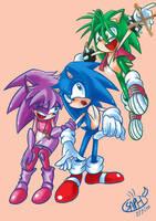 Sonic Underground by Sapphire1010