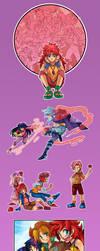 MLP- 3rd Season Episodic Illustrations by Sapphire1010