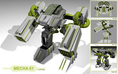 Mecha Robot