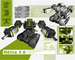 Mecha 2.0 by artisan3