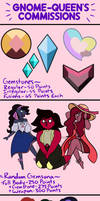Gnome-Queen's Comissions (OLD VERSION)! by Gnome-Queen