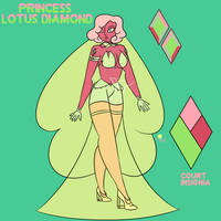 Princess Lotus Diamond 1.0 by Gnome-Queen