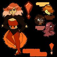 Saffron Diamond 1.0 by Gnome-Queen