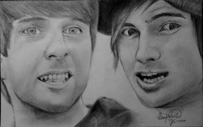 Smosh Portrait by OMKDrawings