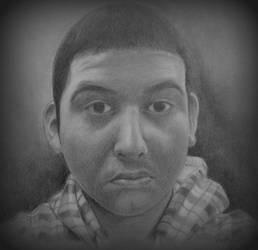 Self Portrait by OMKDrawings