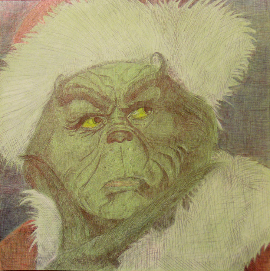 The Grinch by OMKDrawings on DeviantArt