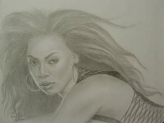 Beyonce by OMKDrawings