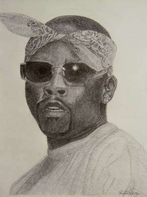 Nate Dogg with Ballpoint pen