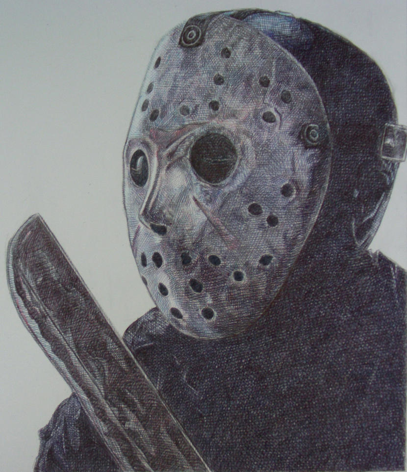 How To Draw Jason Voorhees Easy Stepbystep Drawing Lessons Jason Voorhees  By Omkdrawings On Deviantart