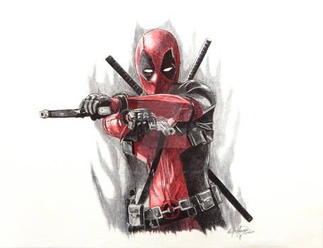 Deadpool Ballpoint Pen