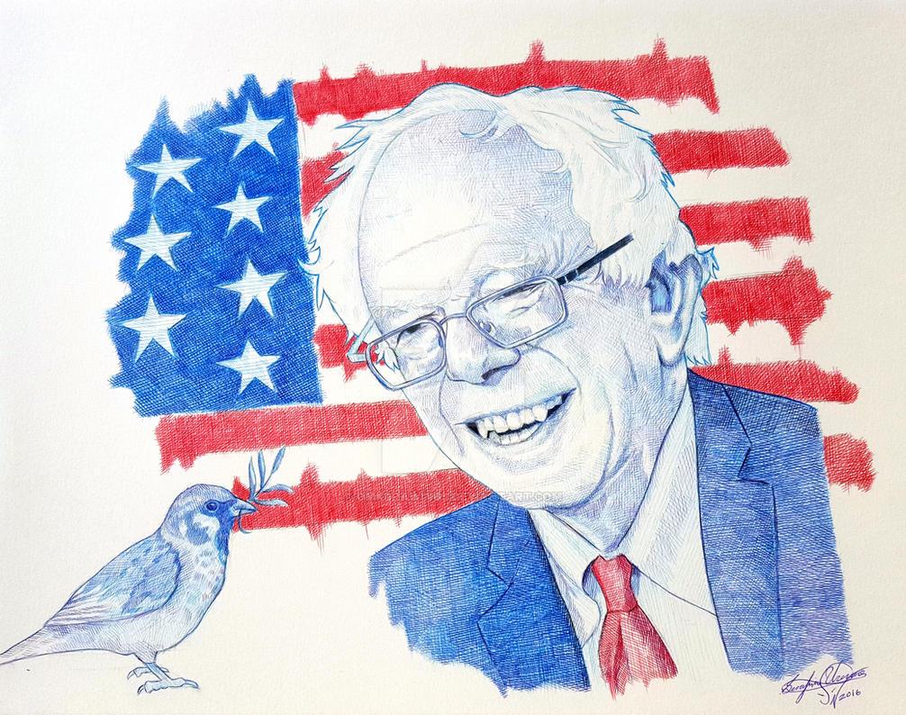 Bernie Sanders Wallpaper Download: Bernie Sanders By OMKDrawings On DeviantArt