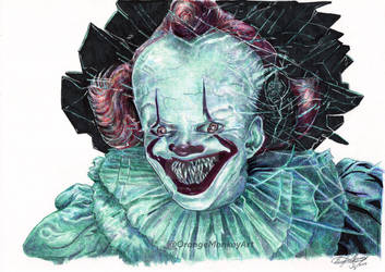 Pennywise IT Chapter 2 Ballpoint Pen and Markers
