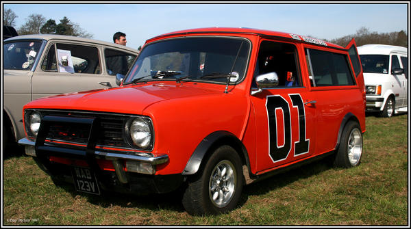 Mini General Lee by CoupeKid