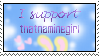 I support thatnaminegirl by TakuniChan