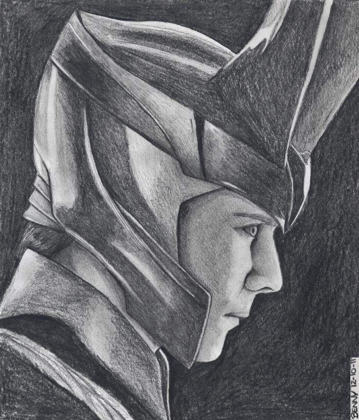 _Loki_ by BennucciaCartuccia