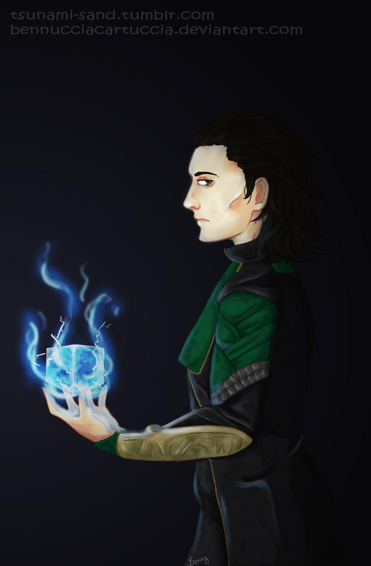 _Loki_and_the_Tesseract_ by BennucciaCartuccia