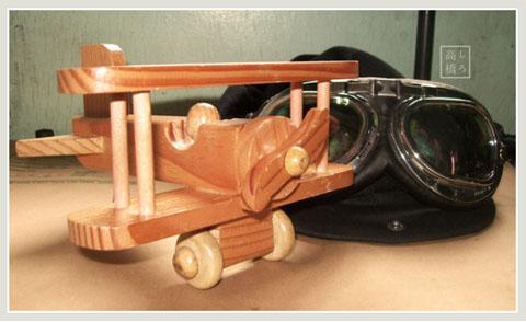 Wooden Plane by dementedmonkey
