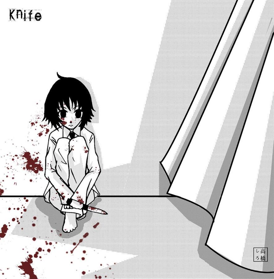 Knife by dementedmonkey
