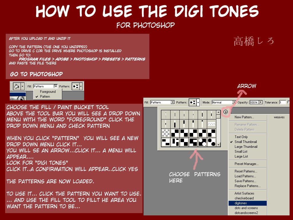 How to use the digi tones by dementedmonkey