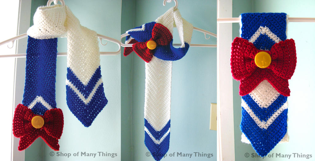 Sailor Moon Scarf by CrafterOfManyThings
