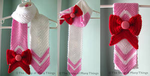 Chibi Moon Scarf by CrafterOfManyThings