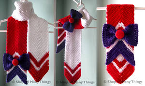 Sailor Mars Scarf by CrafterOfManyThings