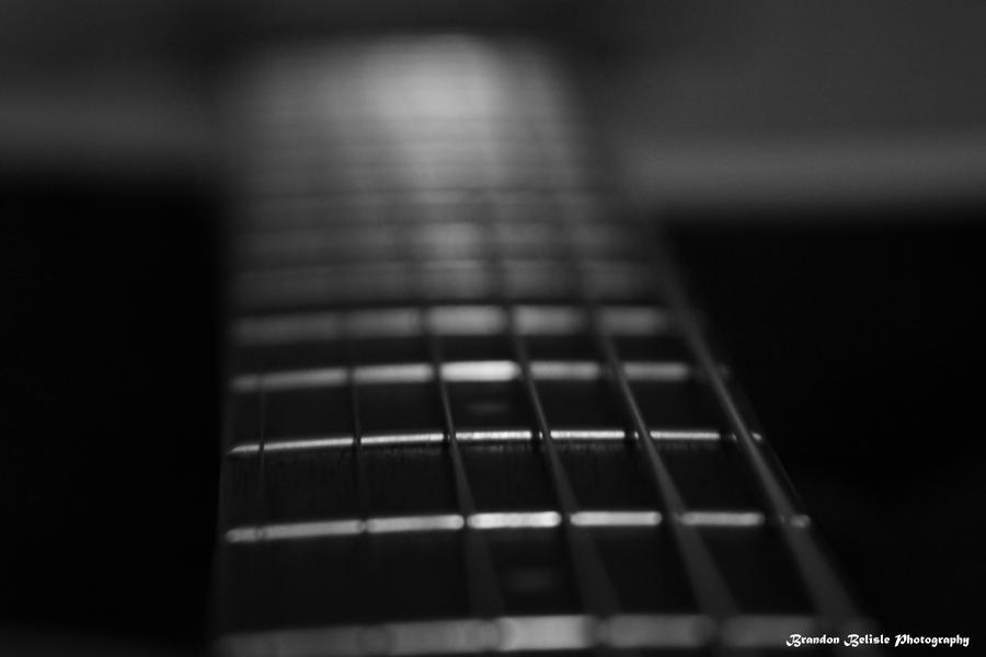 Acoustic Guitar Black and White by NasuTheRedWolf on ...