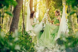 Nymphs by Isa-Wyrd