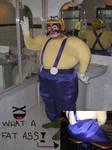 Wario cosplay