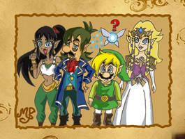 Mario gang-Zelda version by Princesa-Daisy