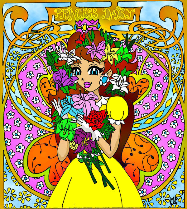 Princess Daisy N64 version by Princesa-Daisy on DeviantArt