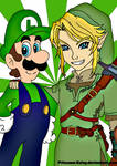 The green heroes: Luigi-Link
