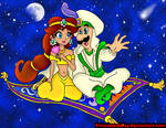 Luigi Daisy- A whole new world