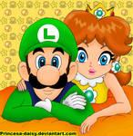 Luigi and Daisy 8-D
