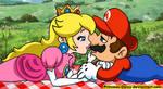 Mario and Peach: You are so perfect