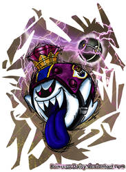 Mario Strikers Charged Football captain: King Boo