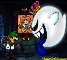 Luigi and Daisy - I will save you by Princesa-Daisy