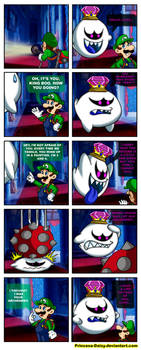 King Boo and Luigi - My old archenemy