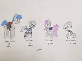 Northern Bat Pony OCs