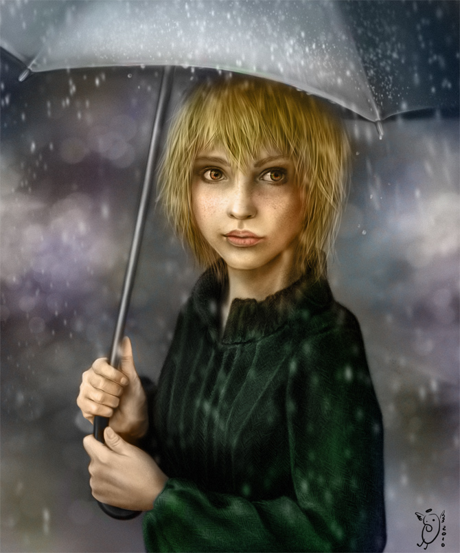 In The Rain By NImportant On DeviantArt