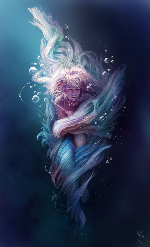 Underwater by nimportant on deviantart - The hideout in the woods an artists dream ...