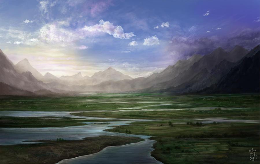 Landscape by NImportant