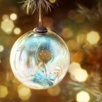 Glass ball...