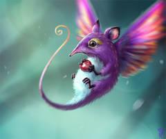 Hummingshrew by NImportant