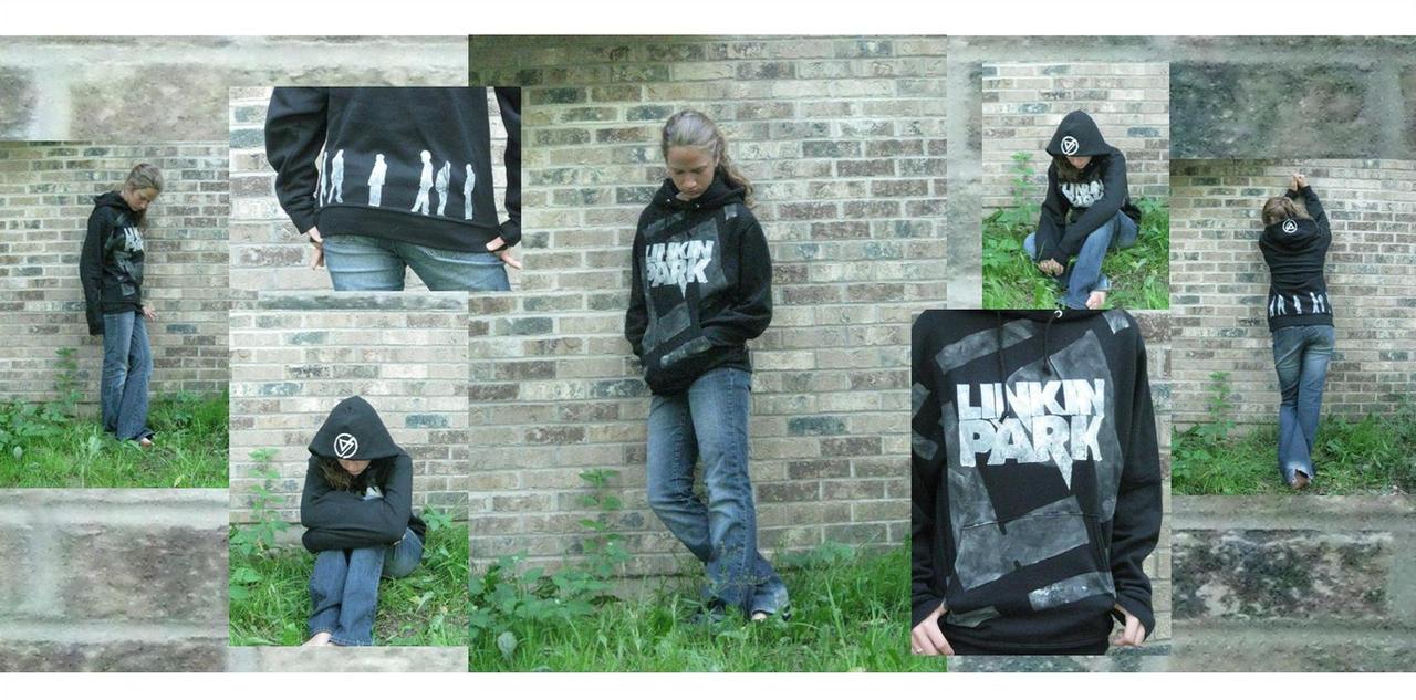 Linkin Park Hoodie by Averin-Renee