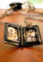 Tiny Clockwork Book by teatimeinc