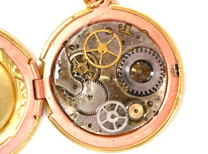 Steampunk Locket Clock Face 2
